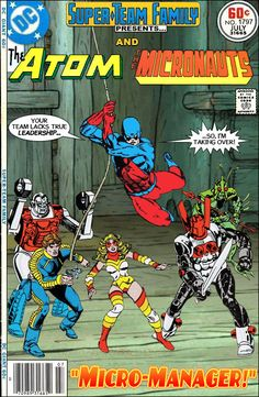 Super-Team Family: The Lost Issues!