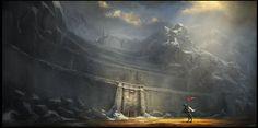 The Fortress Of Dros Delnoch by Gaius31duke.deviantart.com on @deviantART