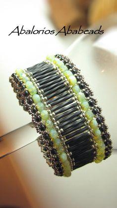 Catala Bracelet en tonos verdes