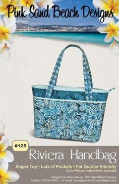The Riviera Handbag Pattern