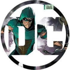The New DC Logo released after Rebirth customized for Green Arrow's new series. DC Logo for Green Arrow Dc Comics Art, Anime Comics, Comic Book Characters, Comic Books, Arrow Black Canary, Batman, Superman, Dc Heroes, Nightwing