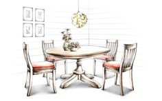 Painted indoor home 6793