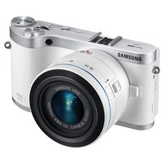 """Samsung NX300 20.3MP CMOS Smart WiFi Mirrorless Digital Camera with 20-50mm Lens and 3.3"""" AMOLED Touch Screen (White), http://www.amazon.com/dp/B00C20KWP4/ref=cm_sw_r_pi_awdm_x_jT8TxbE2MHZ9K"""