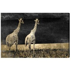 "World Menagerie Let""s Take A Walk Graphic Art on Wrapped Canvas Size: 16"" H x 24"" W"