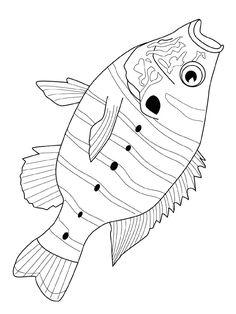fisch malvorlagen | fisch zeichnung, malvorlagen, ausmalbilder