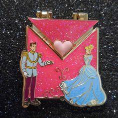DISNEYLAND LOVE LETTERS Lim Ed 3000 Cinderella/Prince Pin