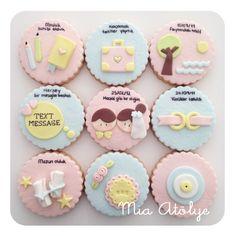 Yıldönümü kurabiyeleri   Mia Atölye