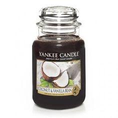 Coconut & Vanilla Bean : Large Jar Candle : Yankee Candle