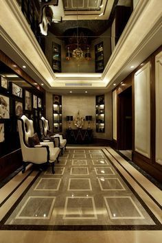 42 Ideas for wall design hotel lobby hallways Hallway Designs, Foyer Design, Lobby Design, Design Hotel, Ceiling Design, Tile Design, House Design, Office Interior Design, Best Interior