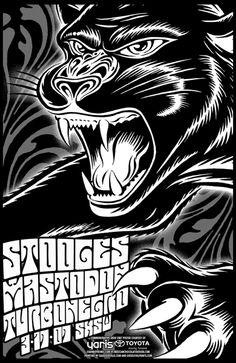 Stooges, The - Mastodon - Turbonegro