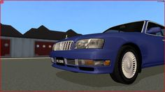 Sims 2 Car Conversion by VoVillia Corp. - 1996 Nissan Cedric Brougham