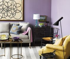 Colors w/black accent.  from house and home.