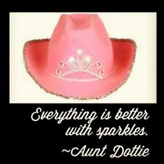 Everything IS better with sparkles!