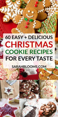 Please all your guests this holiday with these 60 Top-Rated Christmas Cookie Recipes for Every Taste! Please all your guests this holiday with these 60 Top-Rated Christmas Cookie Recipes for Every Taste! Best Christmas Cookie Recipe, Easy Christmas Treats, Christmas Fun, Holiday Fun, Christmas Desserts, Fun Desserts, Delicious Desserts, German Chocolate Cookies, Amazing Recipes