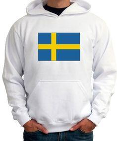 Sweden Outline Kids Hoodie Sweatshirt
