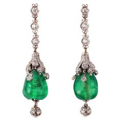 Art Deco earrings France 1920 love these