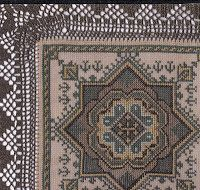 Beaded Embroidery, Cross Stitch Embroidery, Cross Stitch Patterns, Cross Stitches, Repeating Patterns, Bohemian Rug, Mandala, Projects To Try, Diy Crafts