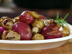 New Potatoes with Grilled Onion Butter Recipe : Amy Thielen : Food Network - FoodNetwork.com