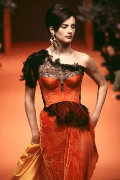 Christian Lacroix - Haute Couture - Runway Collection - Women Spring / Summer 1996