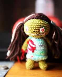 Crochet Zombie Girl