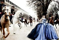 Kristen Stewart in the Jardin du Palais-Royal, Paris, photographed by Mario Testino. Styled by Jessica Diehl.