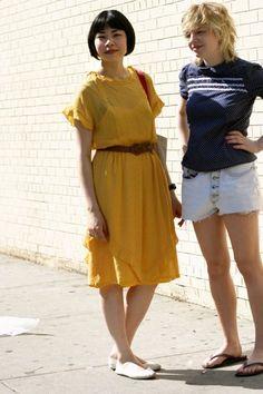 On The Street…….Yellow Dress, New York « The Sartorialist