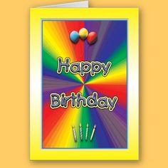 Superstar Rainbow Colorful Custom Profile Card Business Card - Kid business card template