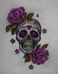 Dibujo Calavera Mexicana