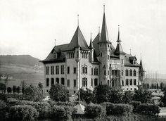 The Historisches Museum in 1895, Bern, Switzerland