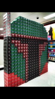 Soda Fett - Boba Fett made out of boxes of soda Star Wars Film, Star Wars Meme, Star Wars Art, Star Trek, Boba Fett, Stargate, Princesa Leia, 8bit Art, The Force Is Strong