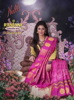 Product Code - RJ12001. To the manor born the unashmedly bright pink and gold color adds drama to angelic royalty.