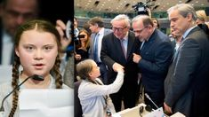16 years old climate activist Greta Thunberg has given a rousing speech at an EU event in Brussels. The teenager opened a European Commission event in front . School Strike, Agent Of Change, Political Leaders, The Hundreds, Environmental Issues, 16 Year Old, Photomontage, Denial, Global Warming