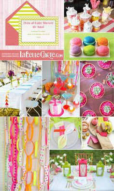 Invitaciones para Baby Shower, Invitaciones de Baby shower, Fiesta neon, Baby shower neon