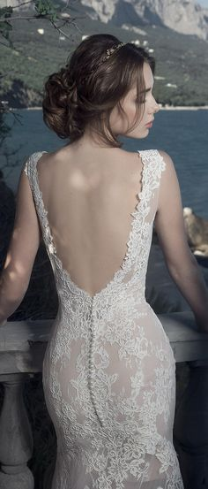 Milva Bridal Wedding Dresses 2017 Canara / http://www.deerpearlflowers.com/milva-wedding-dresses/9/