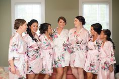 From colorful robes to embroidered boyfriend shirts, there are some really great options out there for brides and bridesmaids