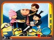 Despicable Me, Baseball Cards, Grasses, Bag Packaging, Sweets, Paper, Party