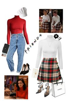 Monica Geller Outift Outfit - Lilly is Love Tv Show Outfits, Nye Outfits, Retro Outfits, Vintage Outfits, Casual Outfits, Fashion Outfits, Diy 90s Fashion, Disco Fashion, Fashion Today