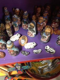 Ceramic Day of the Dead Nativity  by Carmen. $110.00