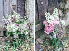 summer wedding flower bouquet, stocks, ranuculus, image by http://www.kat-hill.com/