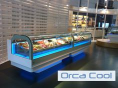 Schepijsvitrine  » Ice Cream Display   http://www.orcacool.nl/products/602/2/schepijsvitrines.html