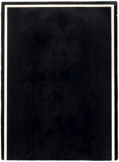 Brice Marden, Study for the N Drawing. 1975.