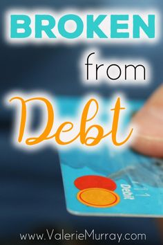 Have you felt the heavy burden of debt? What about a debt you didn't owe? Jesus was broken for our sin debt so that we could have peace no matter what!