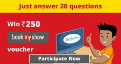 The only marketplace for online competitive exams!   Participate in @eabhyasa   contest for #competitiveexams & #Win Rs 250 #BookMyShow voucher!      Register now: https://www.eabhyasa.com/contest