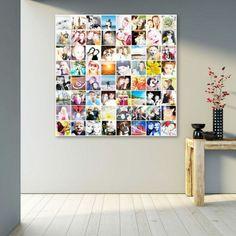 1001+ Ideen Für Fotowand   Interessante Wandgestaltung. Eine Fotocolage Selber  Machen ...