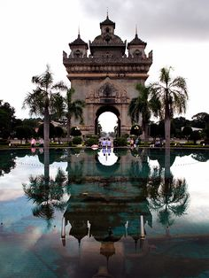 Victory Gate formerly the Anousavary or Anosavari Monument, is a monument in the center of Vientiane, Laos built in 1962 or 1968