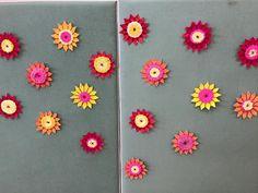"""""""Kevätkukkia"""" (1.-2.lk) Kertakäyttölautasia ja kudontaa. Idea Pinterestistä. (Alkuopettajat FB -sivustosta / Eeva Hiltunen)"""