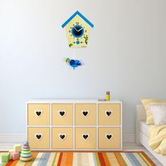 Detské hodiny na stenu nie sú len dekoračným prvkom v miestnosti. Sú tiež prvkom, vďaka ktorému sa deti učia poznávať hodnotu času hravým spôsobom. Home Decor, Decoration Home, Room Decor, Home Interior Design, Home Decoration, Interior Design