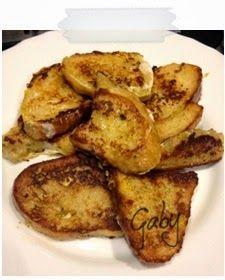 Mezza tazza di tè: Toast alla francese salato