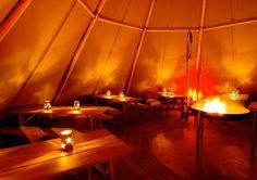 All-year teepee  │    Seehotel Töpferhaus   @toepferhaus #toepferhaus