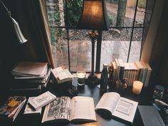 รูปภาพ book, study, and candle
